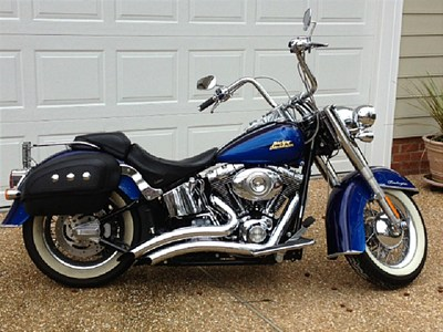 Photo of a 2007 Harley-Davidson&reg; FLSTN Softail&reg; Deluxe