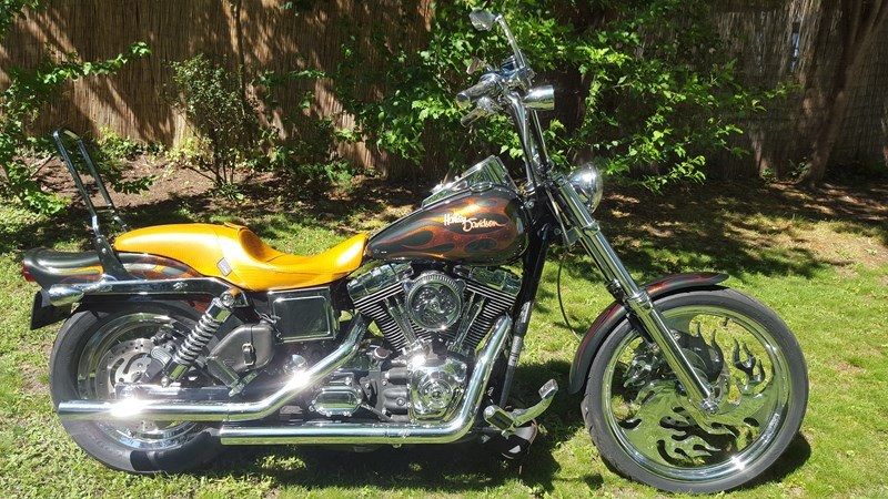 Photo of a 2003 Harley-Davidson® FXDWG/I-ANV Dyna® Wide Glide Anniversary