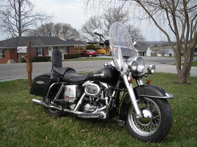 Photo of a 1972 Harley-Davidson® FLH Electra-Glide