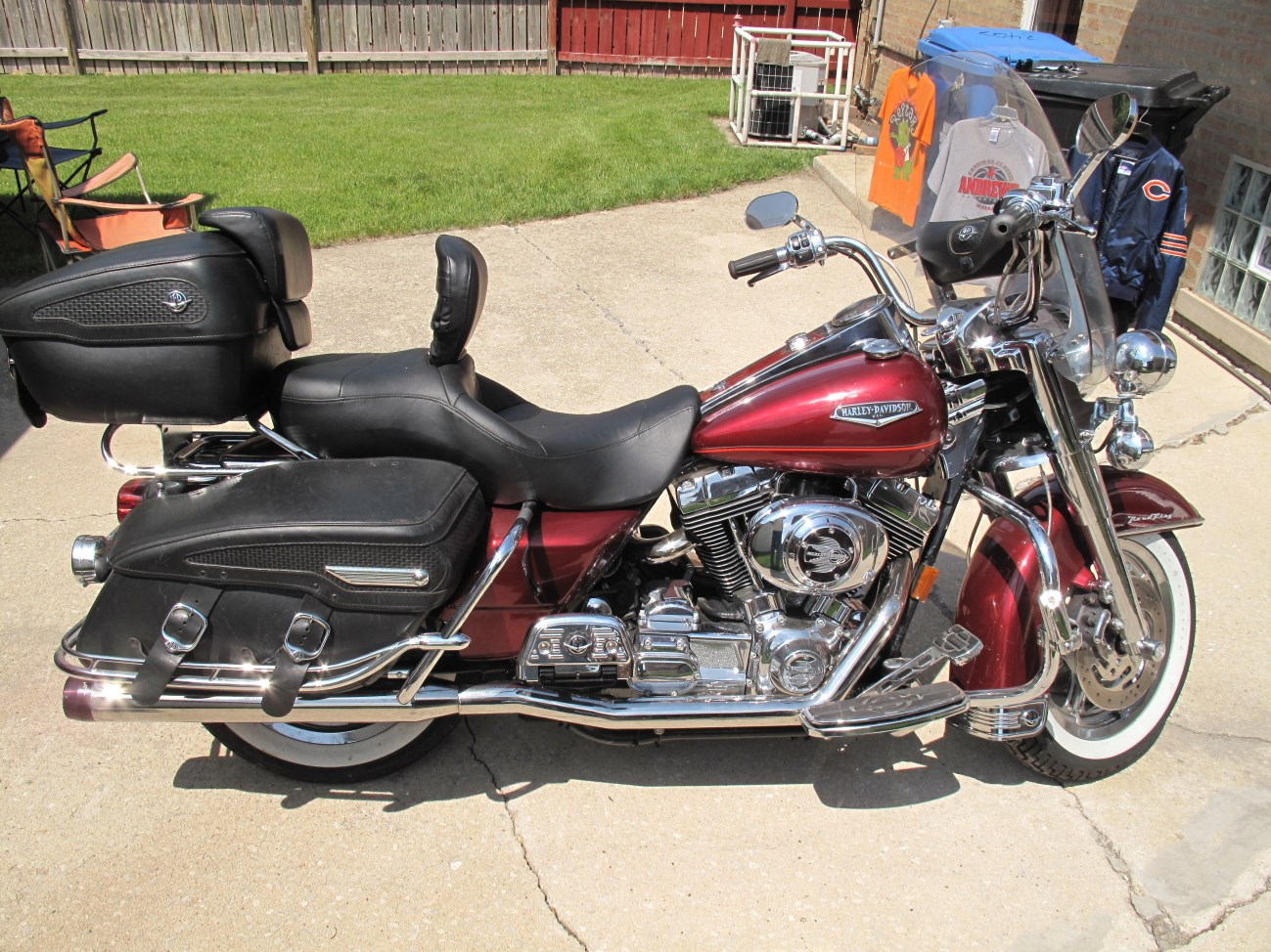 all new used harley davidson touring road king classic 320 bikes page 1. Black Bedroom Furniture Sets. Home Design Ideas