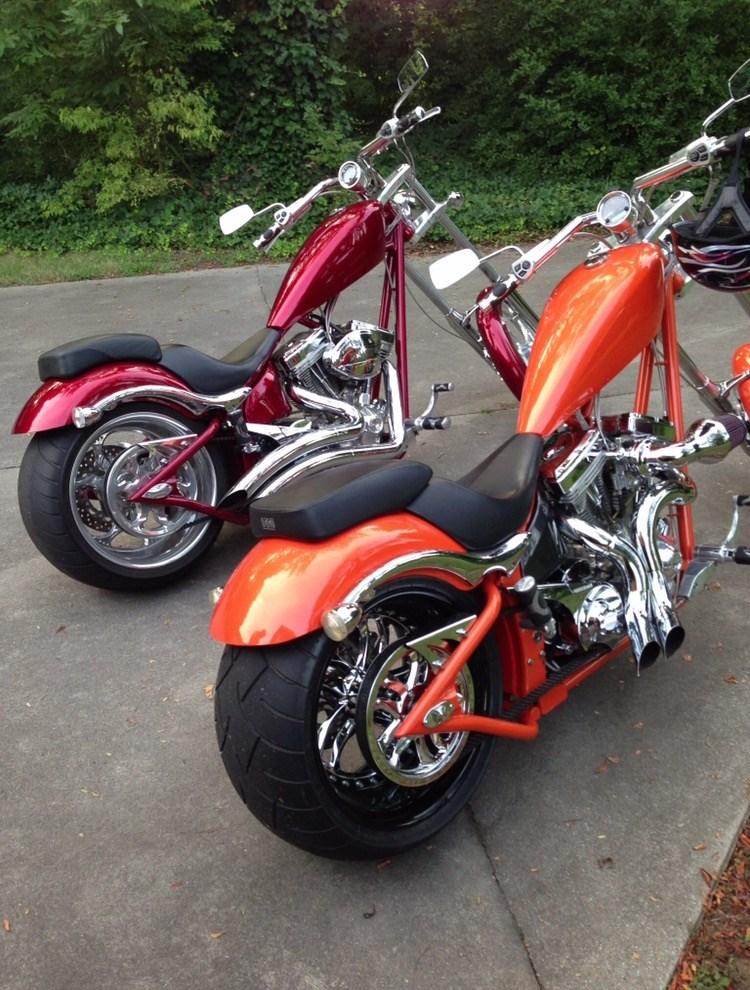 2007 Big Dog K 9 Orange Charlotte North Carolina 687475