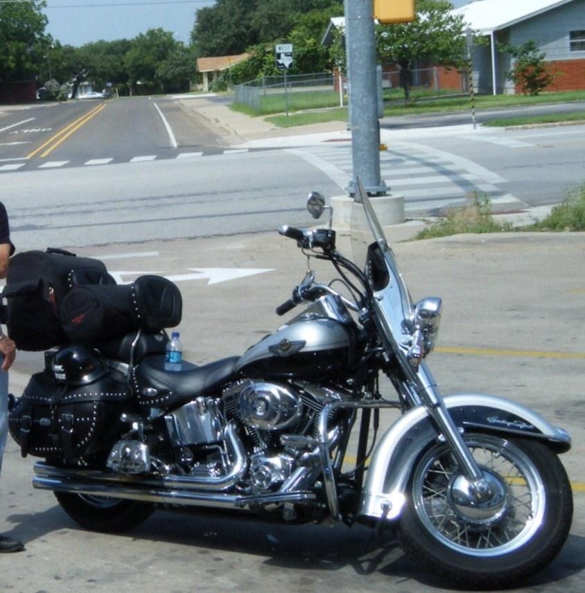 Harley Davidson Houston Locations: 2003 Harley-Davidson® FLSTC/I-ANV Heritage Softail