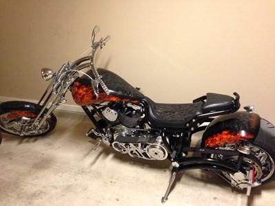 Used 2008 Bourget Bike Works Fat Daddy 330 Super Stretch Limo