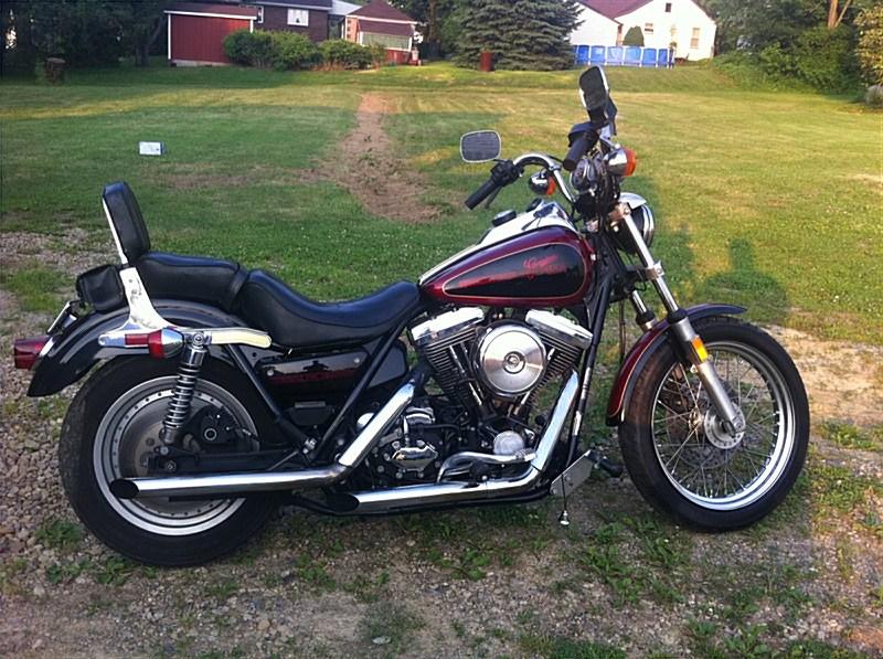 1986 Harley-Davidson® FXRC Low Glide® Custom (Blood Red ...