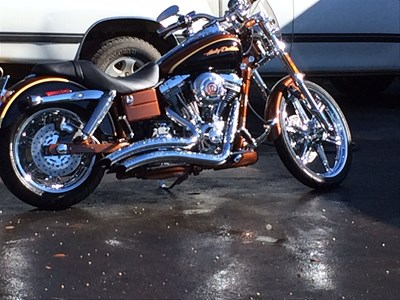 Used 2008 Harley-Davidson® Screamin' Eagle® Dyna® Anniversary