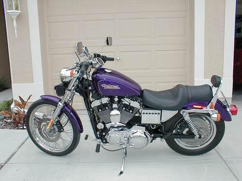 Harley Davidson Chico Ca >> 2000 Harley-Davidson® XL1200C Sportster® 1200 Custom (Concord Purple), Holiday, Florida (8853 ...