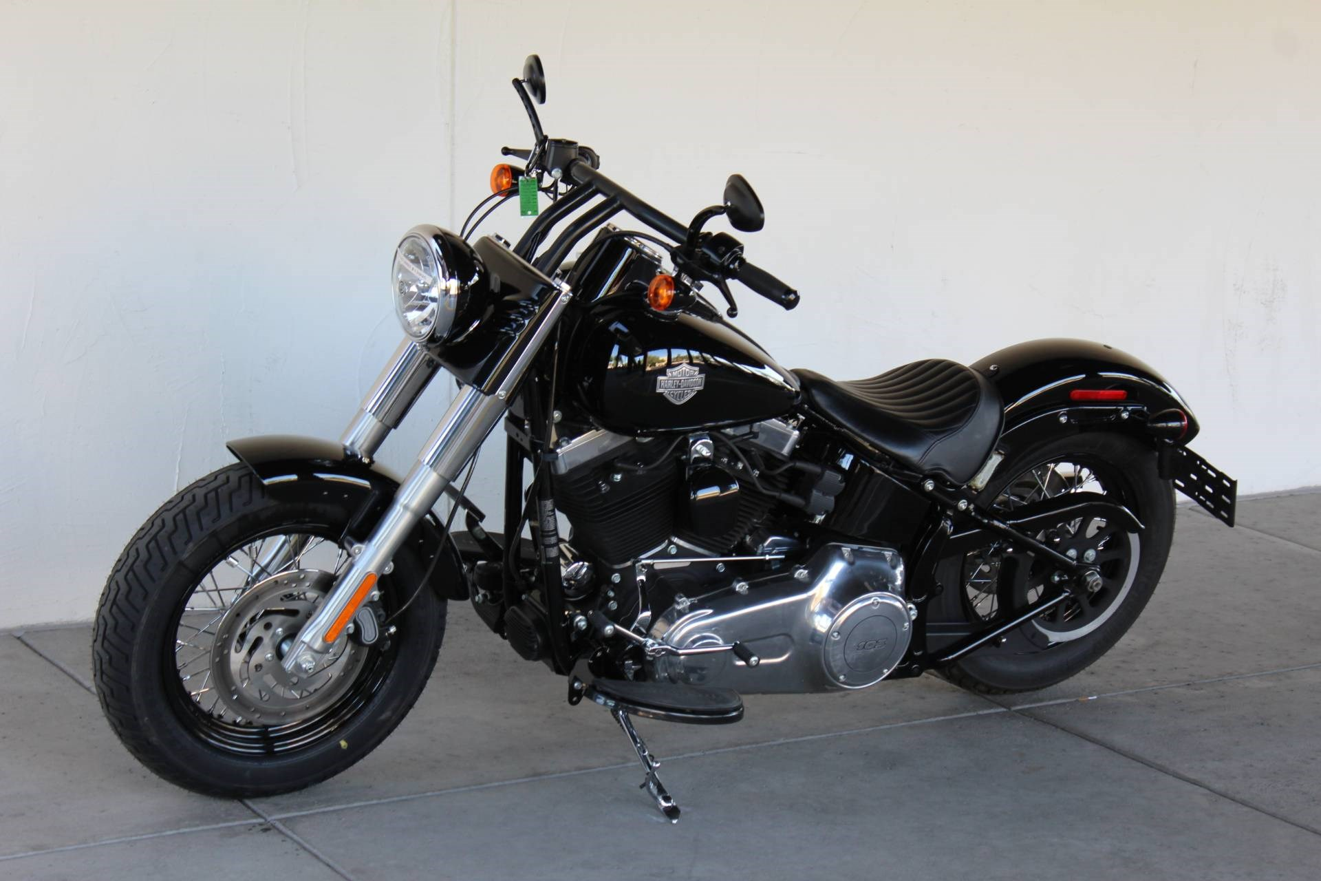 2013 harley davidson fls softail slim black denim apache junction arizona 680102. Black Bedroom Furniture Sets. Home Design Ideas