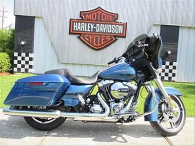 2014 harley-davidson® flhx street glide® (daytona blue), slidell, louisiana (478774)