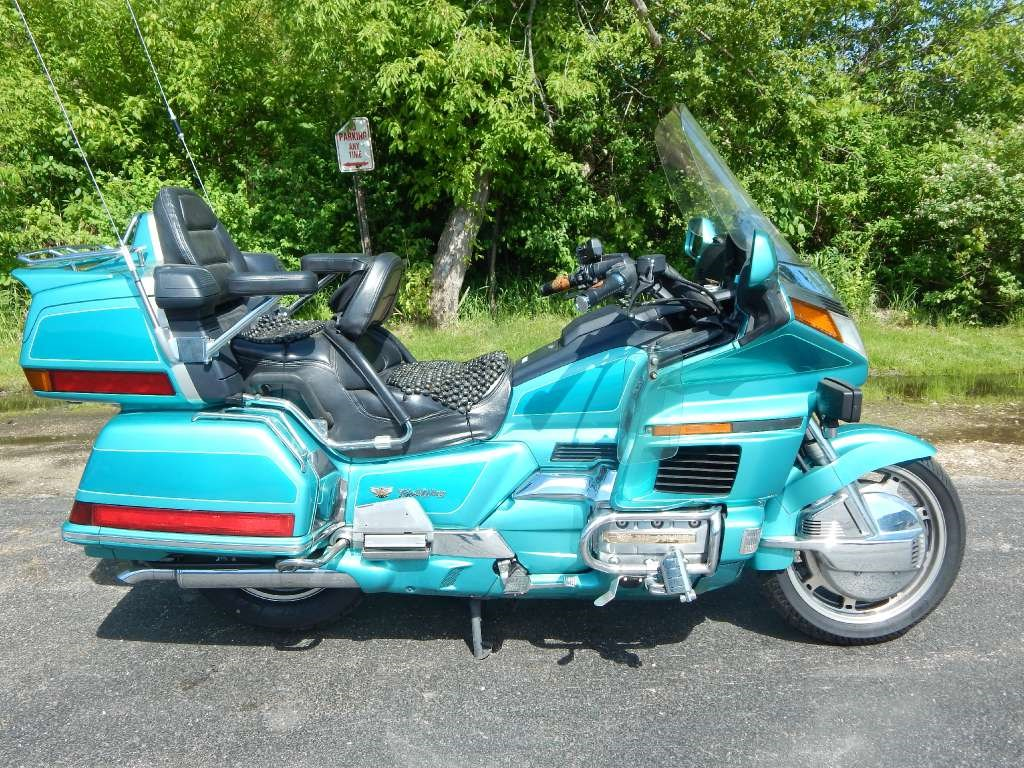 Goldwing se green 1994 honda motorcycle in big bend wi 3928731793