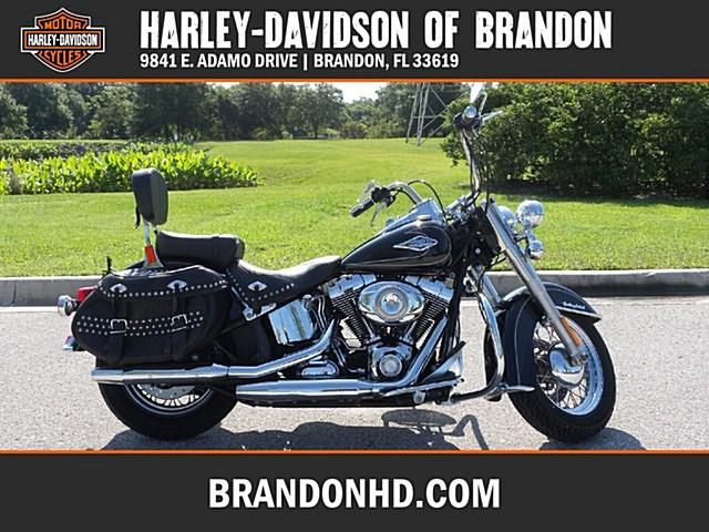 Atv Dealer Lakeland Fl >> 2010 Harley-Davidson® FLSTC Heritage Softail® Classic (BLACK), Tampa, Florida (648297 ...